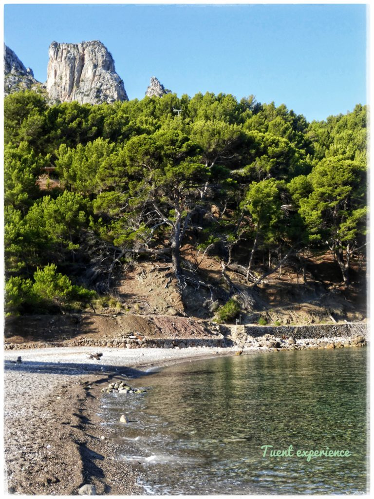 Playa de Cala Tuent / Cala Tuent beach